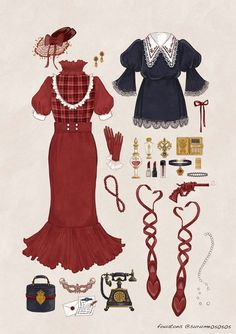 53 Best Ideas For Fashion Ideas Sketches Style Vintage Fashion Sketches, Fashion Design Drawings, Cute Fashion, Fashion Art, Fashion Outfits, Fashion Clothes, Style Fashion, Fashion Ideas, Kleidung Design