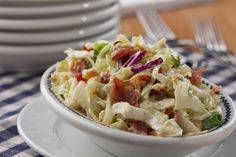 Bacon Ranch Coleslaw | MrFood.com