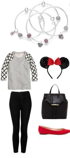 Go as a true Minnie fan to your next girls night out #PANDORAlovesDisney