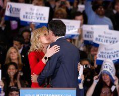 Ann Romney - Mitt Romney Holds Gathering On Night Of Michigan And Arizona Primaries