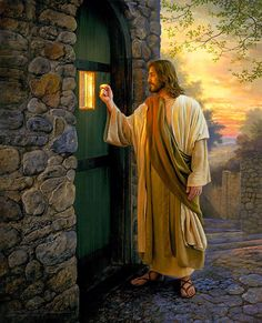"""Sabrina's - """"Journey Through GOD'S WORD in a year"""": Week-24 JESUS Knocking at the Door"""