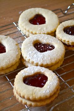 Homemade Jammie Dodgers perfect for that Doctor Who party