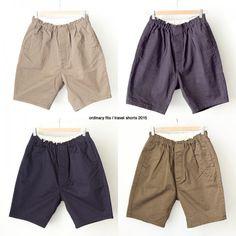 【arrival】〔Men's&Ladies'〕ordinary fits / Travel shorts   ストラクト日記 Trunks, Swimming, Shorts, Lady, Fitness, Swimwear, Travel, Men, Fashion