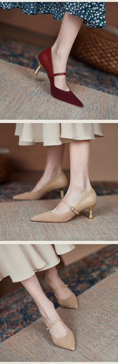 Chiko Oma Pointed Toe Kitten Heels Pumps - Shoes Heels Pumps, Kitten Heel Pumps, Toe Shape, Me Too Shoes, Bride, Shoe Bag, Luxury, Classic, Pattern