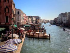 The Grand Canal, Venice, Italy. Grand Canal, Romantic Destinations, Venice Italy