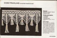 Resimlere tıklayarak büyük halini görebilirsiniz Click here for diagram     Püsküllü dantel kenar ve şeması
