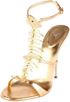 aa2349daf Amazon.com  Giuseppe Zanotti Women s fish bone Sandals Giuseppe Zanotti  Shoes
