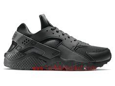 check out 86b0d 78522 Nike Air Huarache (Nike Urh) Homme black silver 704830 002 Nike Air  Huarache, Black
