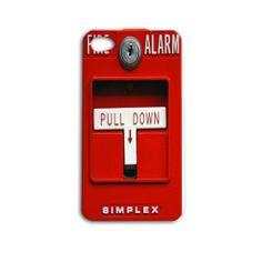 Fire Alarm Case Cute Funny Custom Cover  $18.98
