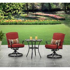 Better Homes and Gardens Dawn Hill 3pc Cafe Set - Walmart.com