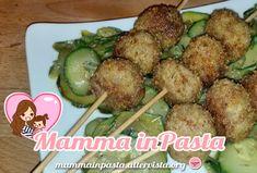 Polpette di Carne e Zucchine - un secondo piatto per far mangiare le verdure anche ai più piccini (mia figlia le ha adorate) e ottimo per tutta la famiglia.