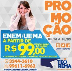 Promoção de Março 2016 - ENEM/UEMA