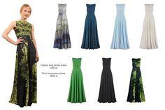 Antrekk: Den lange kjolen