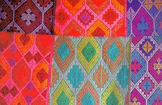 Yakan is another unique cultural group of Sulu living on Basilan Island south of Zamboanga. They are the most superb textile weavers of the southern archipelago. On backstrap looms they turn fine cotton and silks into remarkable geometric work of art.