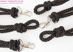 Fashion Accessory DIY Tutorial: Lanyard Recycling: Make a Belt with Ropes and Lanyards - Step 3 of 6
