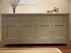 sideboards | Painted sideboard with double lambs tongue on the drawer fronts ...