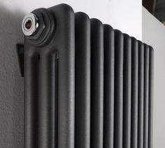 cheshire radiators kingsley 2 column vertical steel radiator in colour cast iron radiators. Black Bedroom Furniture Sets. Home Design Ideas