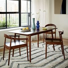 Lena Mid-Century Dining Table