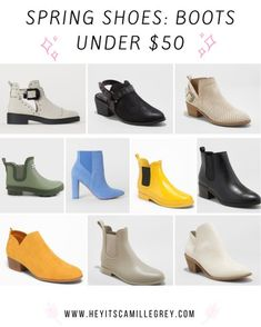 Posts from camillegrey | LIKEtoKNOW.it Spring Boots Under $50! #spring #shoes #under50 #fashion #boots #booties #rainboots