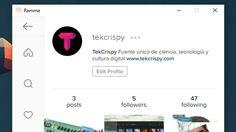 Ramme: aplicación de Instagram para el escritorio #Software #Instagram
