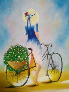 Bisikletli kız