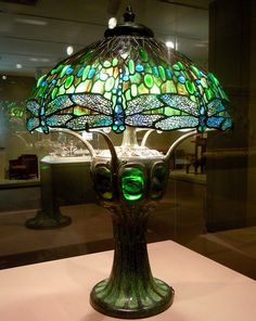 Wolcott Driscoll Tiffany Lamp by pamelainob (Pamela Schreckengost), via Flickr