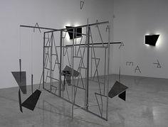 Like Leaves installation - Martin Boyce Workshop Studio, Installation Art, Art Installations, 3 D, Planets, Minimalism, Art Projects, Contemporary Art, Sculpture