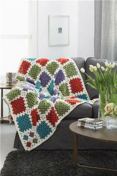 Go Graphic Afghan