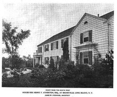 Old Long Island: The Henry F. Atherton Estate