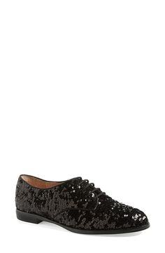 kate spade new york 'paxton' oxford  Black Glitter 7.5 M from Nordstrom on Catalog Spree
