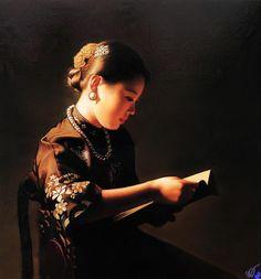 Unknow title. Di Li Feng (China-1958)