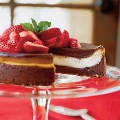 Chocolate Fudge Cheesecake | MyRecipes.com