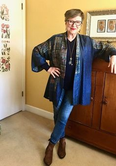 Easiest jean outfit recipe for the COVID season and beyond - Brenda Kinsel