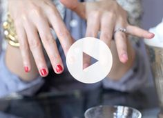 There's a Better Way to Remove Your Manicure | Beauty | PureWow National How to remove your manicure with 1 cotton ball in 2 min.