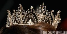 The Alexandrine Diamond Drop Tiara | The Court Jeweller