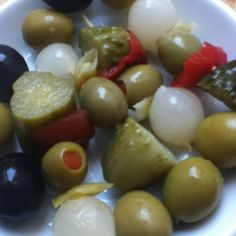 #Spanish Olives & Pickles