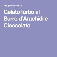 Gelato furbo al Burro d'Arachidi e Cioccolato
