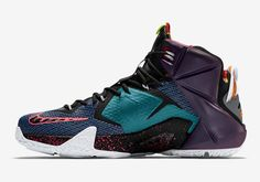 """Nike LeBron 12 """"What the"""" 