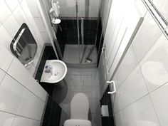ensuite ideas small spaces - Google Search