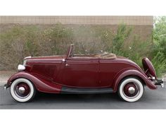 1934 Ford Deluxe Cabriolet... Re-pin brought to you by #HouseofInsurance #EugeneOregon for #Autoinsurance