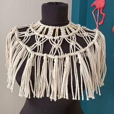 Hippie Festival, Festival Dress, Handmade Dresses, Handmade Bags, Hippie Boho, Bohemian Style, Strange Fashion, Hippie Accessories, Macrame Dress