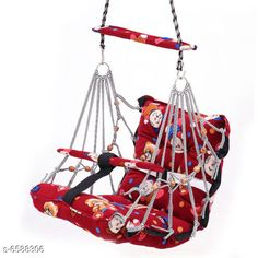 Baby Personal Care Baby Swings Jula Product Name  : Home Garden Baby Jhula Type : Jula Material : Cotton Size : Free Size ( Length Size : 67 cm m Width Size : 55 cm ) Age Group : 3- 6 Years Multipack : 1 Country of Origin: India Sizes Available: Free Size   Catalog Rating: ★4.3 (389)  Catalog Name: Baby Swings Jula CatalogID_1049677 C51-SC1664 Code: 624-6588306-7311