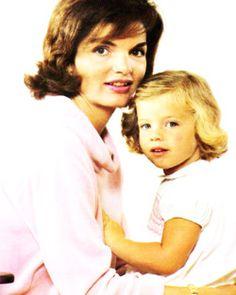 Jackie & Caroline Kennedy.