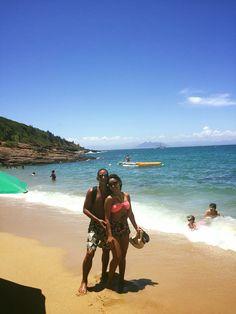 Ir a praia  juntos