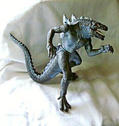 Vintage 1990s Godzilla Movable Figure 11 in. High  Toho