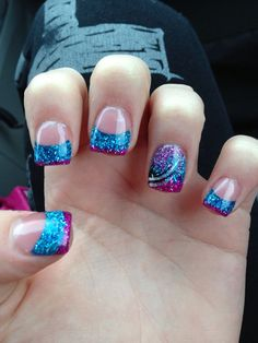 Nail art diy nails nail designs nail ideas nails best gel nail art designs 2014 im not loving the color combo but i like the design idea prinsesfo Image collections