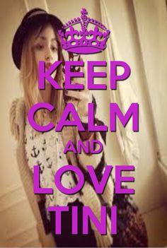 Keep calm and love tini