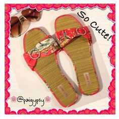 Cute Coral Sandals Like new! Adorable straw/bamboo sandals with coral beachy print strap and rhinestone circle embellishment. These are a re-Posh from a wonderful seller! They are just too big for me. Super cute! Size 8 (I'm a 7/7.5) Great pre-loved condition! ✅ASK QUESTIONS ✅Bundle ✅Offers ❌NO Trades ❌NO Off-site Transactions Shoes Sandals