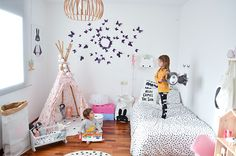 Room Tour: Two Amazing Girl's Rooms in Nordic Style