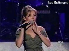 ▶ Thalia -Thalia - No Me Ensenaste (People Awards) - YouTube